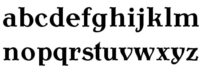 AntykwaTorunska-Bold Font LOWERCASE