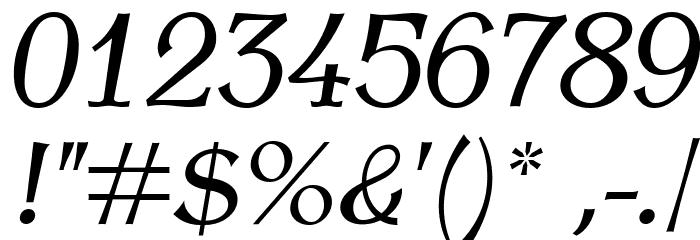 AntykwaTorunska-Italic Font OTHER CHARS