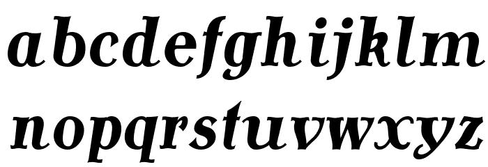 AntykwaTorunskaCond-BoldItalic Шрифта строчной
