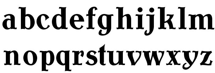 AntykwaTorunskaCond-Bold Шрифта строчной