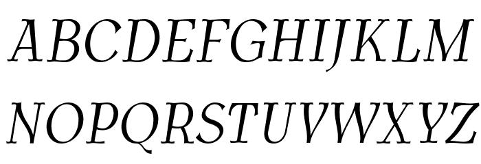 AntykwaTorunskaCondLight-Italic Шрифта ВЕРХНИЙ