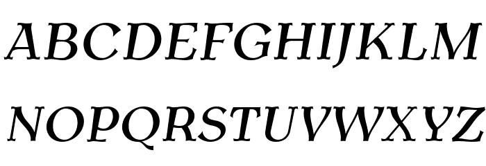 AntykwaTorunskaMed-Italic Шрифта ВЕРХНИЙ