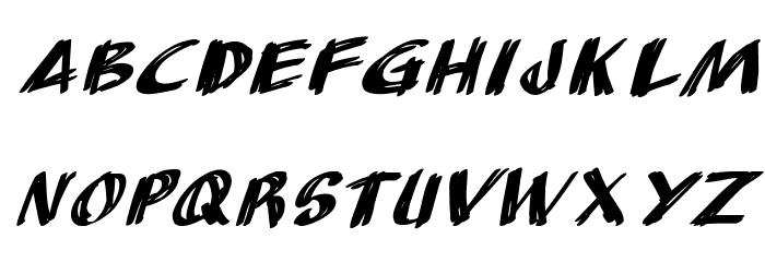 AnuDaw Italic Fonte MINÚSCULAS