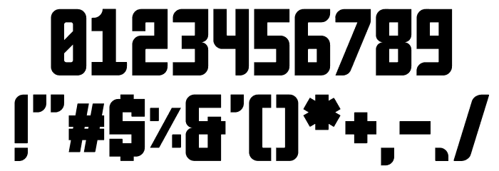 Anvyl Font OTHER CHARS