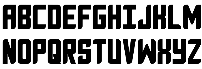 Anvyl Font UPPERCASE
