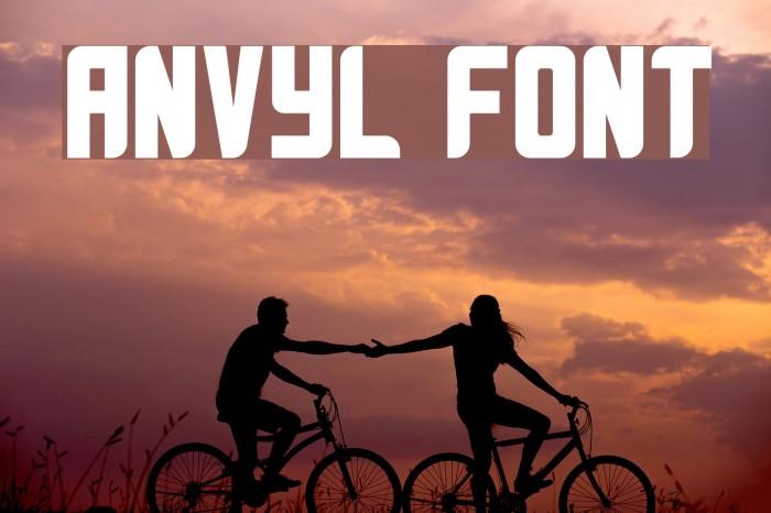 Anvyl Font examples