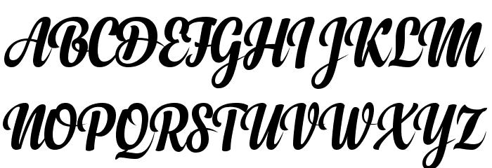 Anydore لخطوط تنزيل الأحرف الكبيرة