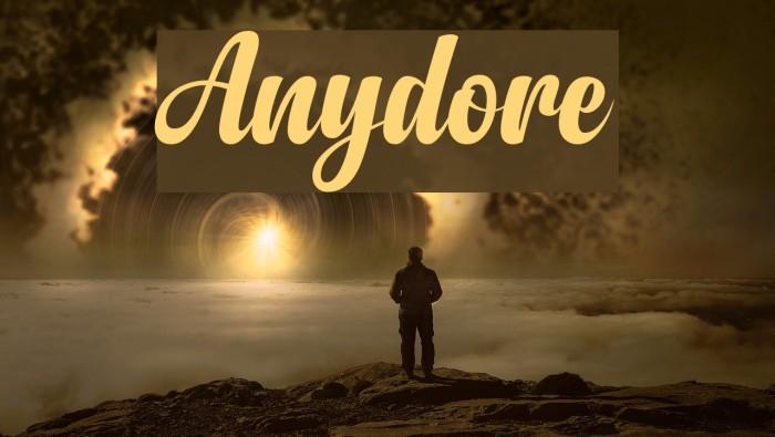 Anydore لخطوط تنزيل examples