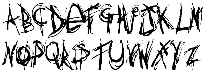 Anythingyouwant Font Litere mari