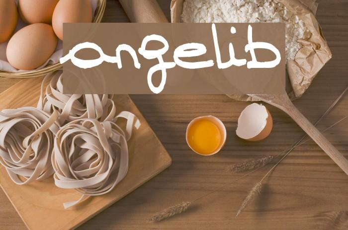angelib Fonte examples