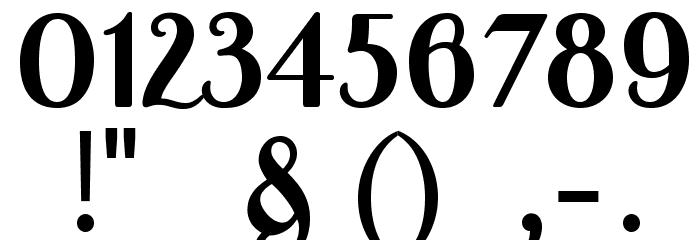 APompadourDisplaySample لخطوط تنزيل حرف أخرى