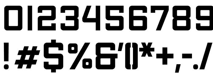 Apex Mk2 Bold Extended Шрифта ДРУГИЕ символов