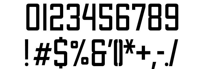 Apex Mk2 Light Condensed Шрифта ДРУГИЕ символов
