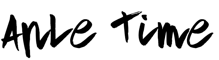 Aple Time  Скачать бесплатные шрифты