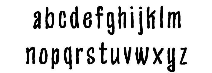 Appetite Font LOWERCASE