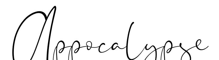 Appocalypse Font - free fonts download