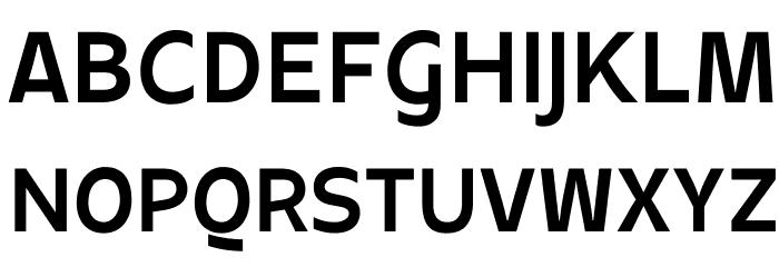 Apricity Bold Font UPPERCASE