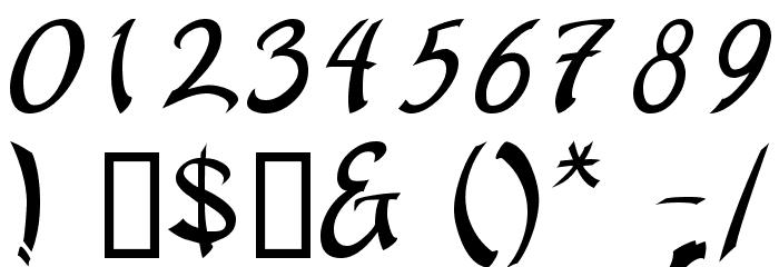 apantasia Шрифта ДРУГИЕ символов