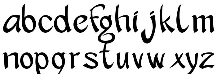 apantasia Шрифта строчной