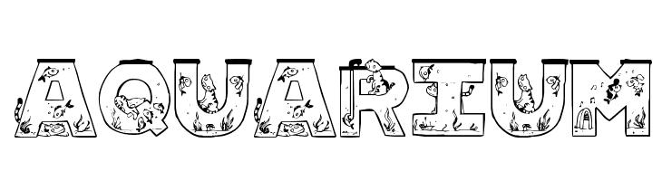 Aquarium  Free Fonts Download