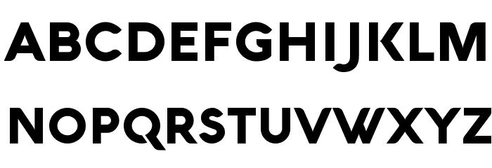 Aquawax Black لخطوط تنزيل الأحرف الكبيرة