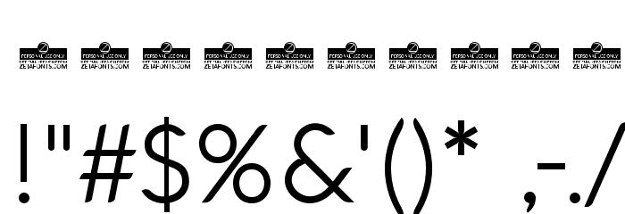 Aquawax Light لخطوط تنزيل حرف أخرى