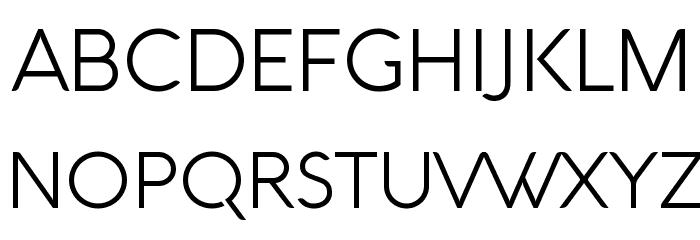 Aquawax Light لخطوط تنزيل الأحرف الكبيرة