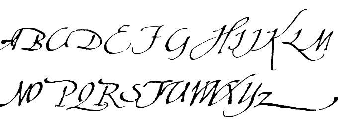 AquilineTwo Font UPPERCASE