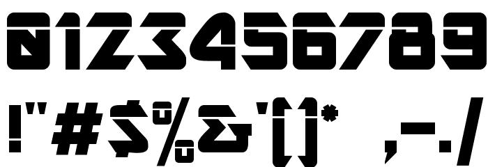 AR DESTINE Font OTHER CHARS