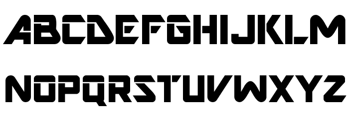 AR DESTINE Font UPPERCASE