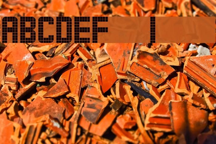 ARECIBO MESSAGE Schriftart examples