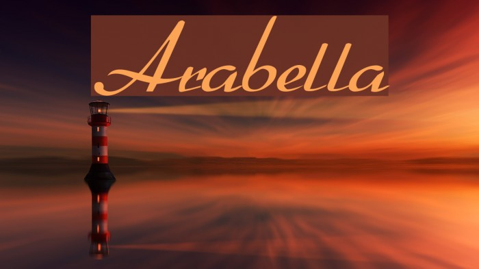 Arabella لخطوط تنزيل examples