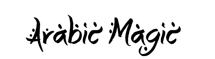 Arabic Magic  Free Fonts Download