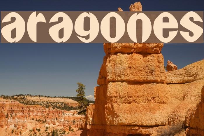 Aragones फ़ॉन्ट examples