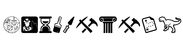 Archeology  Free Fonts Download