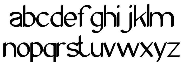 Archieve Font UPPERCASE
