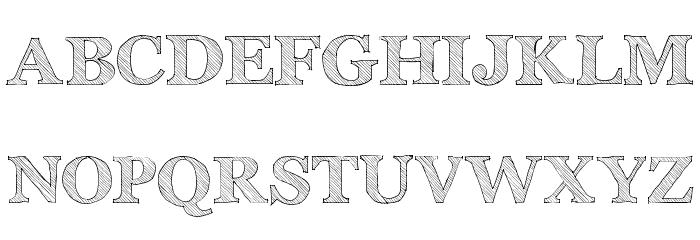 Archistico Normal Font Litere mari