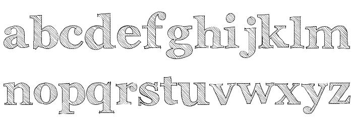 Archistico Normal Font Litere mici