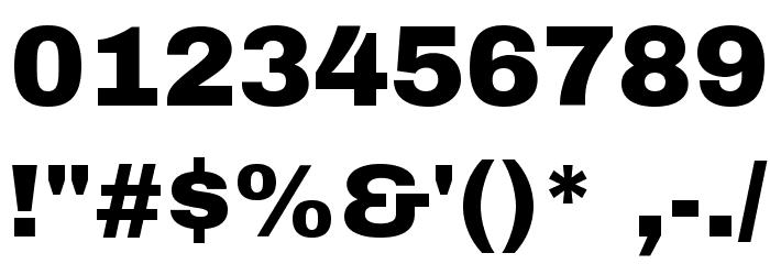 Archivo Black Font OTHER CHARS