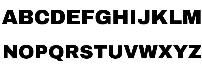 Archivo Black Font UPPERCASE