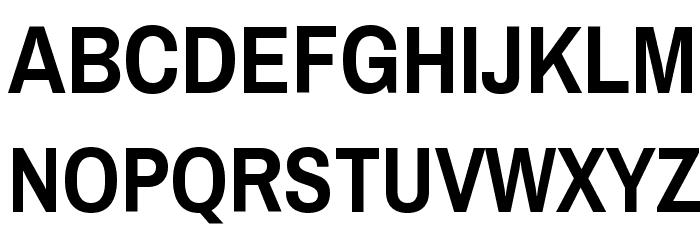 Archivo Narrow Bold Font UPPERCASE