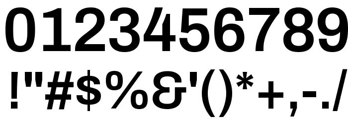 Archivo SemiBold Шрифта ДРУГИЕ символов