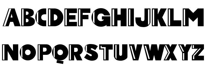 Arcoverde Font Litere mari