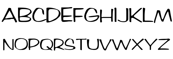 Arctic Regular Font UPPERCASE