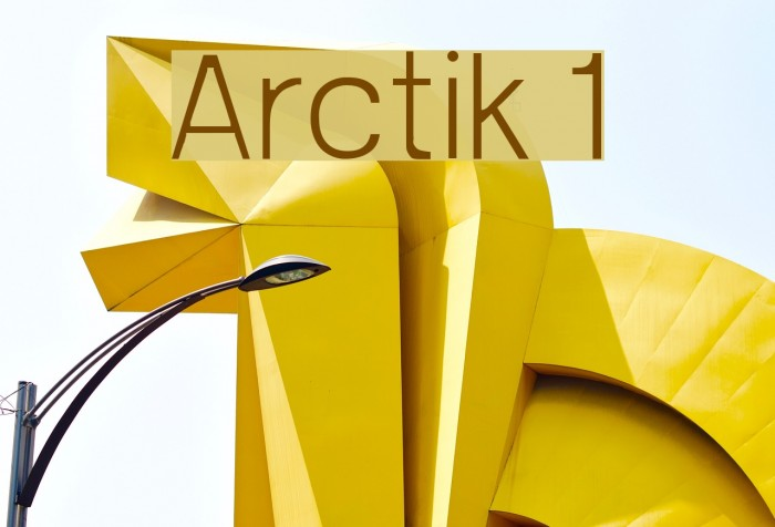 Arctik 1 Fuentes examples