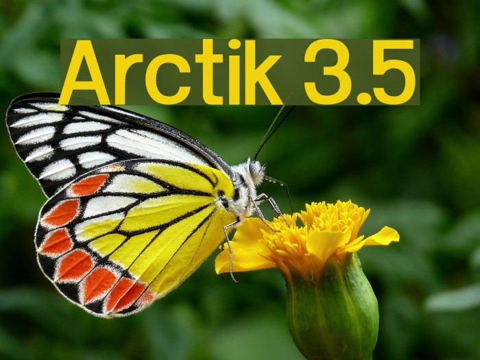 Arctik 3.5 Fuentes examples