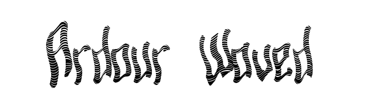 Ardour Waved  font caratteri gratis