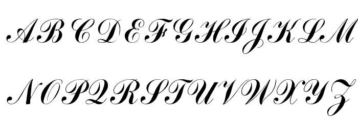 Arenski Font Litere mari