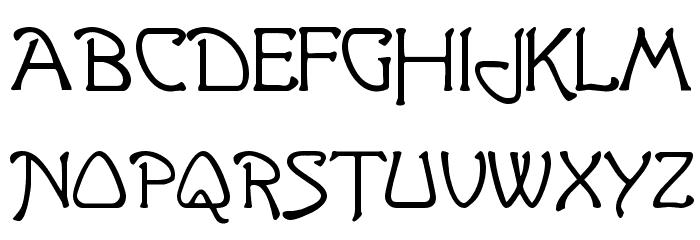 Argonaut Font UPPERCASE
