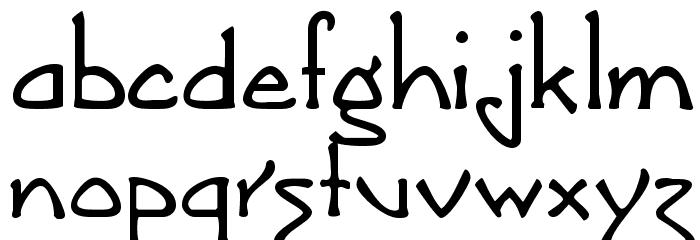 Argonaut Font LOWERCASE